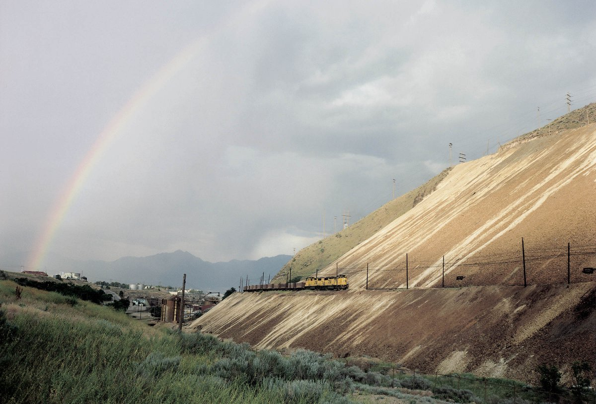 Mine Tailings, Bingham Canyon Mine, Copperton, Utah 1990