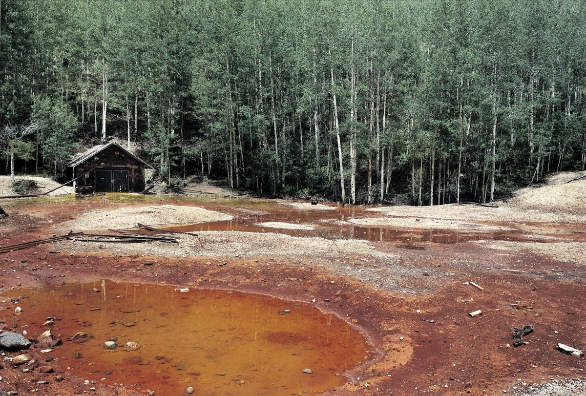 EPA Cleanup Site, Noranda Mine, Colorado 1998
