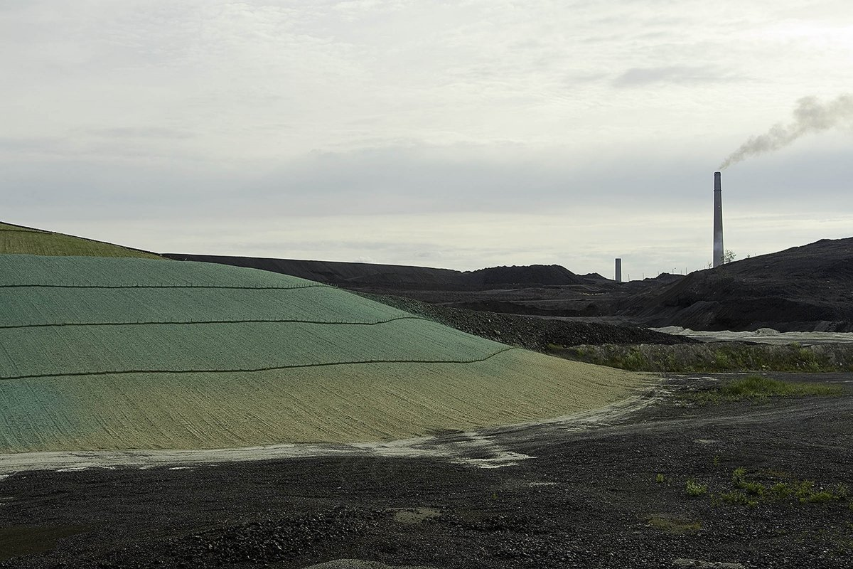 Nickel Mining Slag Remediation, Sudbury, Ontario 2008
