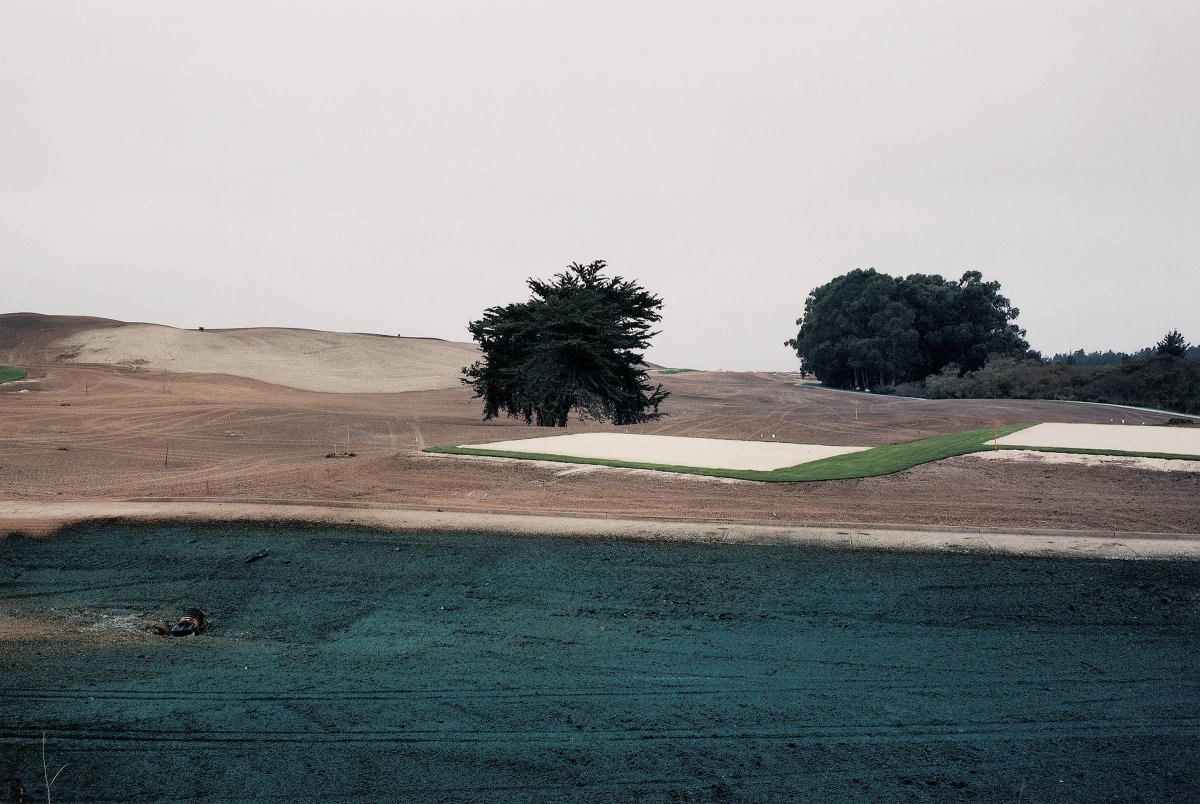 Golf Course Construction, Half Moon Bay, California 1996