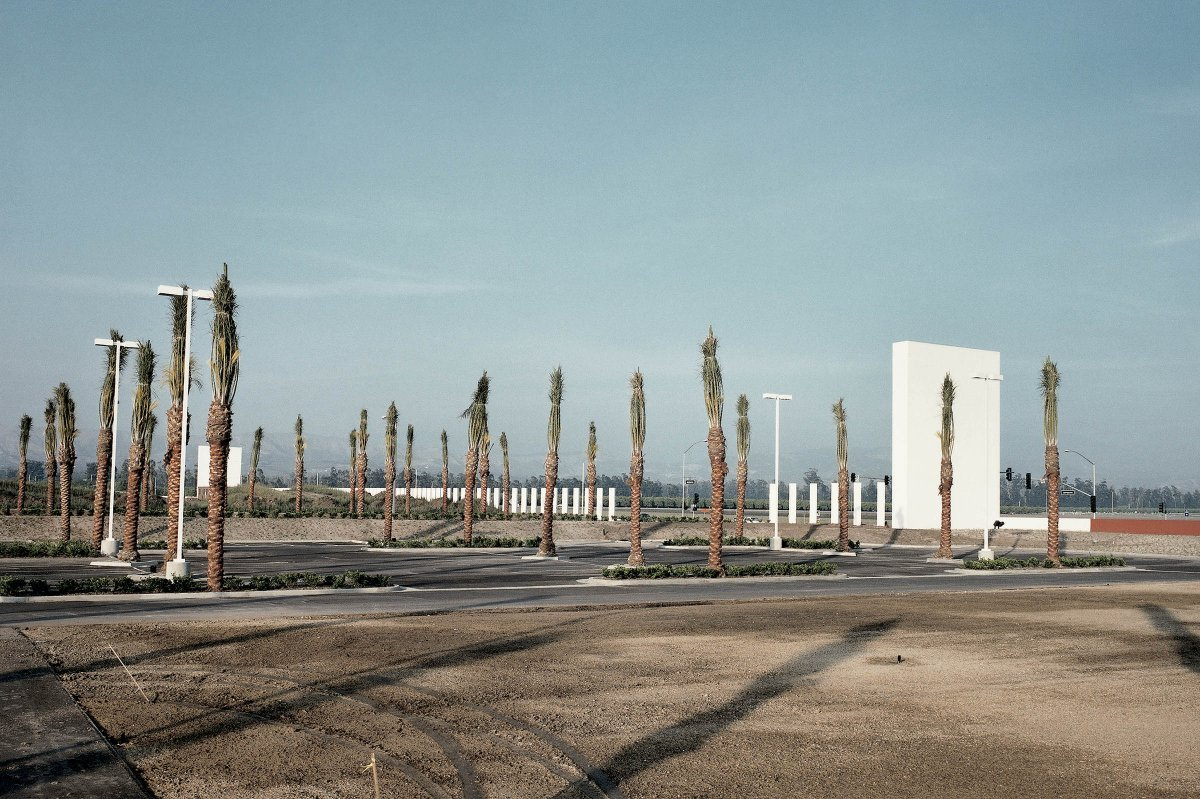 New Mall Parking Lot, Southern California 1989