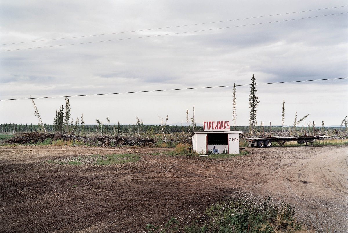 Fireworks Stand Near Fairbanks, Alaska 2001