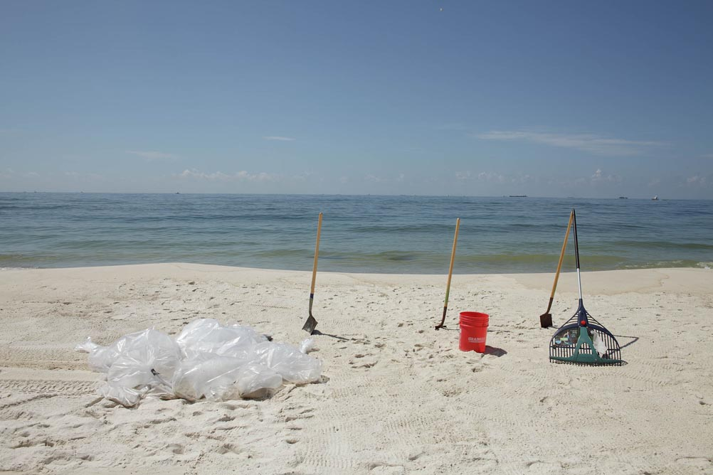 17-bags-of-contaminated-sand-and-clean-up-tools-gulf-shores-alabama