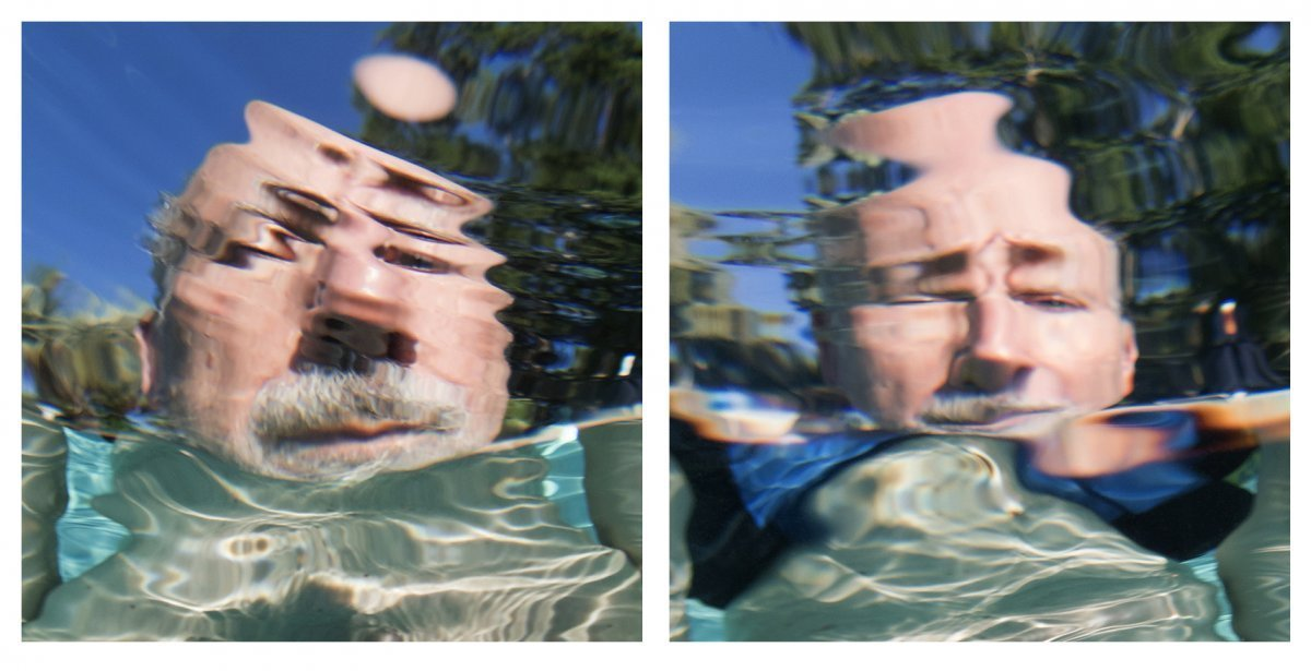 Water Portraits Diptych #5 2019.
