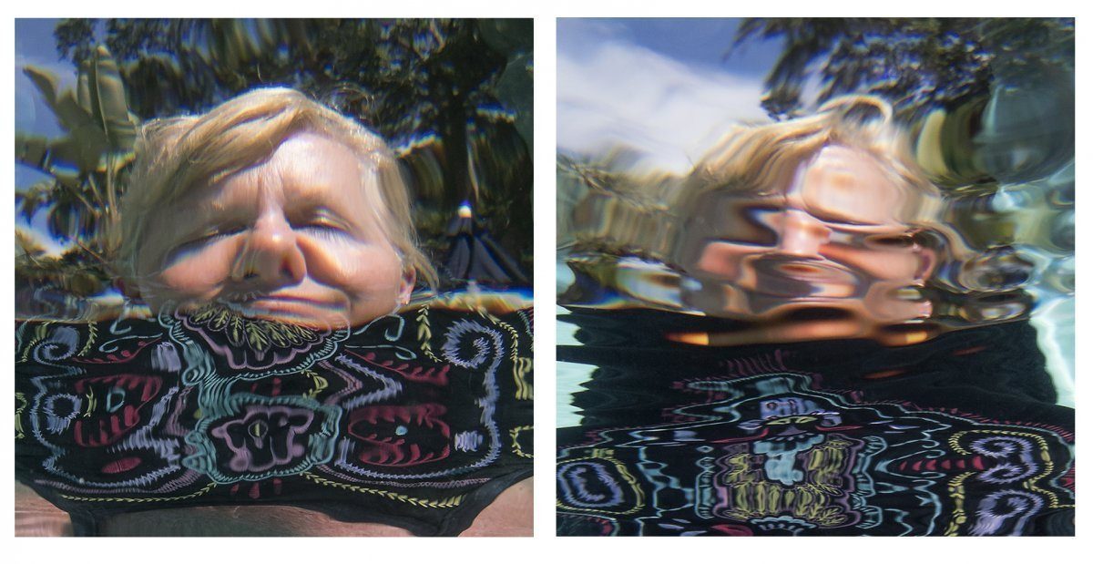Water Portraits Diptych #7 2019.