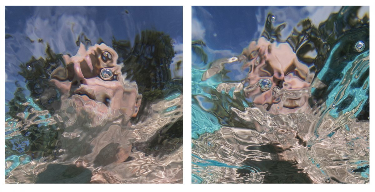 Water Portraits Diptych #8 2019.