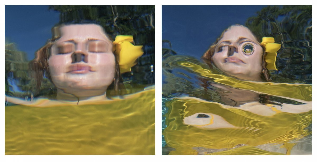 Water Portraits Diptych #9 2019.