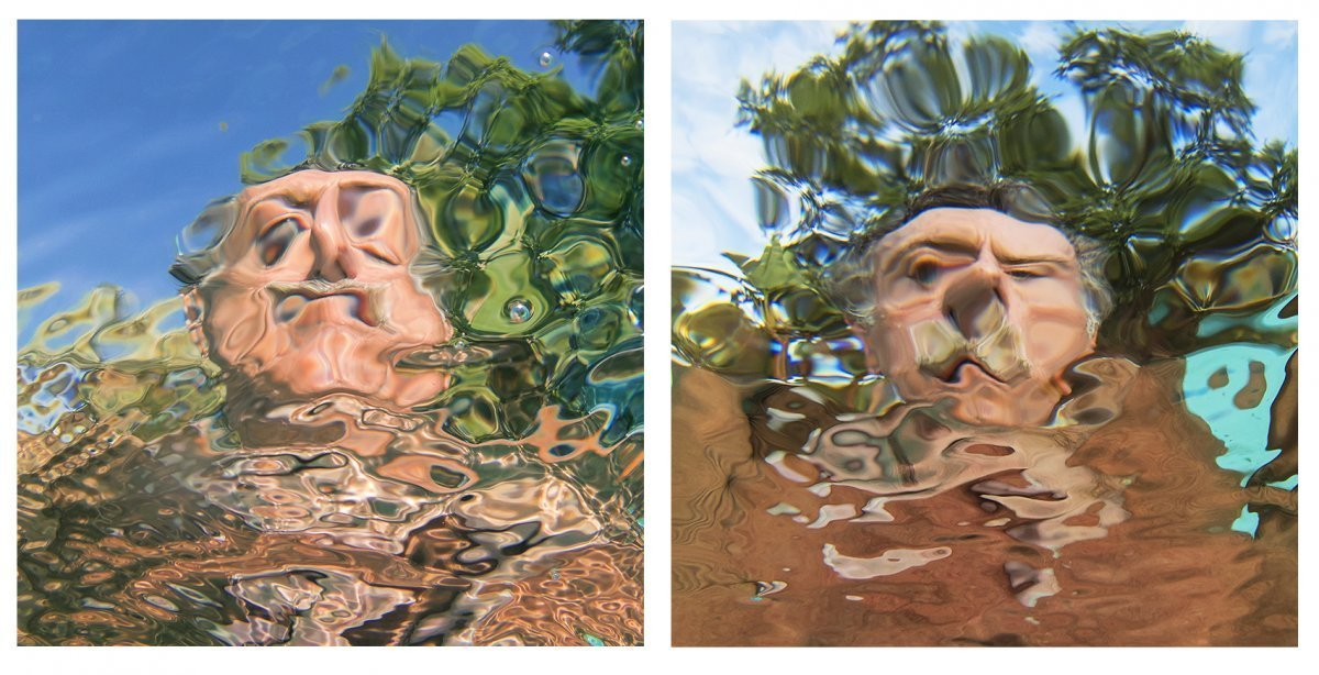 Self-Portraits Diptych #2 2019.