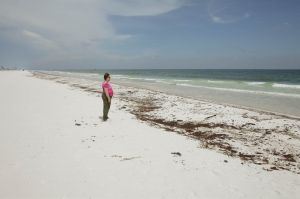 Oil Spill Witness, Pensacola Beach, Florida, 2010