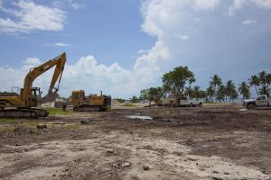 RV Resort Construction Key Largo Florida, 2012