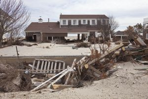 Ocean Ave After Hurricane Sandy, Mantoloking NJ 2013