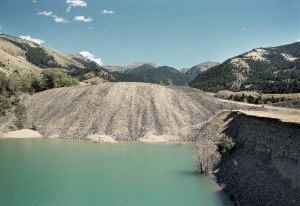 Gold Dredging Tailings & Pond, Old Chico, Montana 1999