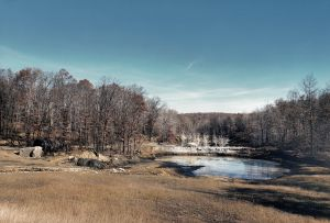 Toxic Coal Mining Pond, Pennsylvania 1989