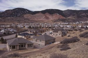 Rockrimmon Subdivision and Pike View Aggregate Mine, Colorado Springs CO 2008